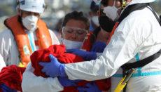 Dem Neugeborenen und seiner Mutter geht es gut. Sie werden im Hospital Materno Infantil in Las Palmas betreut. Foto: EFE
