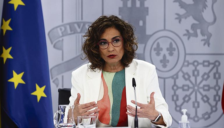 Finanzministerin María Jesús Montero