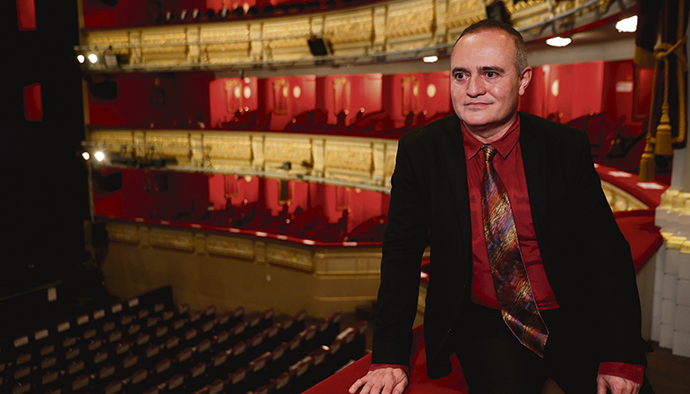 Joan Matabosch, Intendant des Madrider Teatro Real, freute sich über die hohe Auszeichnung. Foto: EFE