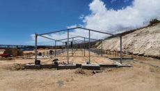 Zurzeit werden die Fundamente für die Außenmauern gegossen. Foto: Cabildo de Tenerife