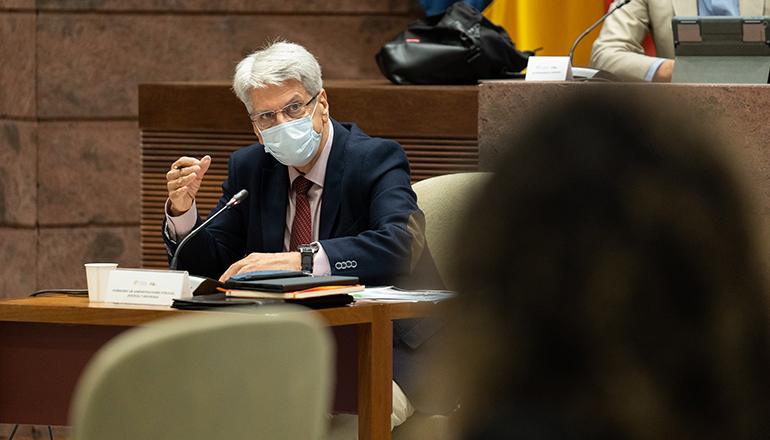 Regierungssprecher Julio Pérez wies darauf hin, dass die übrigen Maßnahmen weiter gelten. Foto: EFE
