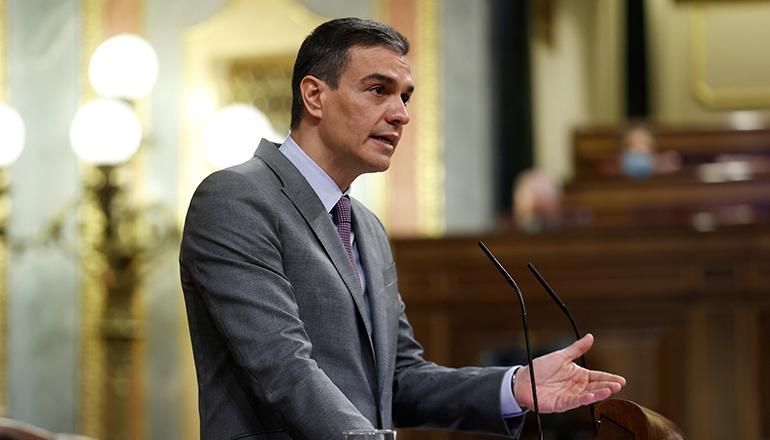 Regierungschef Pedro Sánchez Foto: EFE