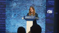 Beatriz Fanjul, Präsidentin der Jugendvereinigung der PP Foto: EFE