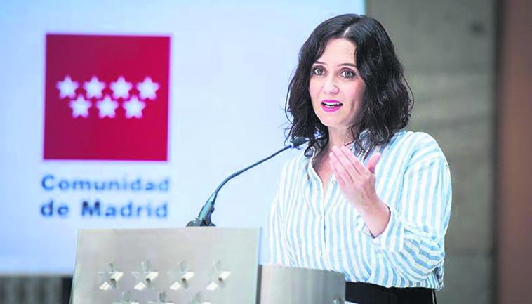 Isabel Ayuso, Regionalpräsidentin von Madrid Foto: EFE