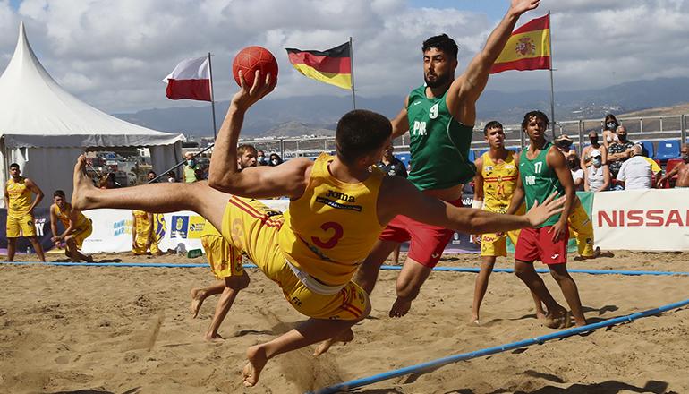 Endspiel der Männer-Nationalmannschaften von Spanien und Portugal Fotos: EFE