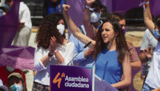 Ione Belarra ist neue Generalsekretärin von Podemos. Foto: EFE
