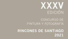 "Plakat des ""35. Wettbewerbs für Fotografie und Malerei – Rincones de Santiago 2021"" Foto: Ayuntamiento Santiago del Teide"