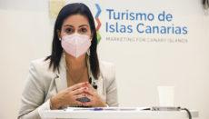 Tourismusministerin Yaiza Castilla Foto: Gobierno de Canarias
