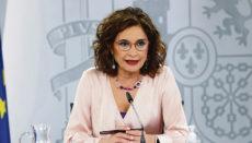 Finanzministerin María Jesús Montero Foto:EFE