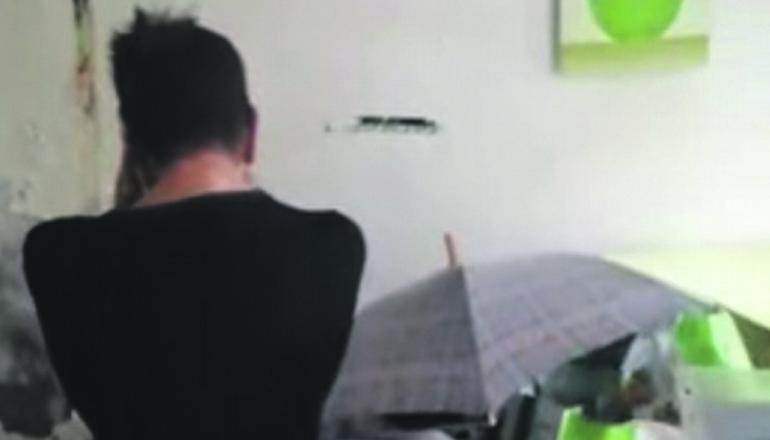 Bildschirmfoto des Videos über Rosas Notlage