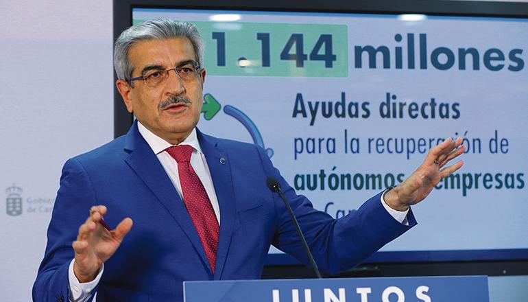Román Rodríguez, kanarischer Vizepräsident Foto: EFE