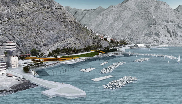 Die Bucht von Valleseco liegt an der Avenida Anaga auf etwa halber Strecke zwischen der Stadt und dem Strand Las Teresitas. Foto: puertos de tenerife