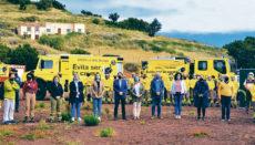 Präsentation der Waldbrandschutzkampagnen auf La Palma Foto: Cabildo de La Palma