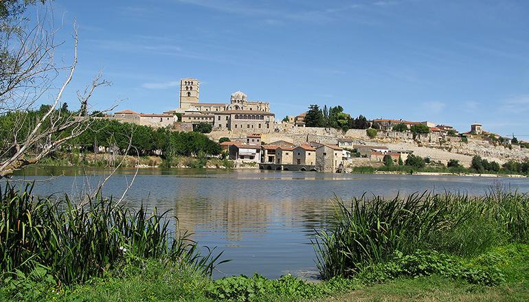 Die Stadt Zamora in Kastilien-León führt die Liste der europäischen Regionen mit der höchsten Überalterung an. Foto: Pixabay