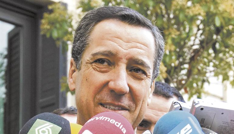 Ex-Minister Eduardo Zaplana (Archivbild). Foto: EFE