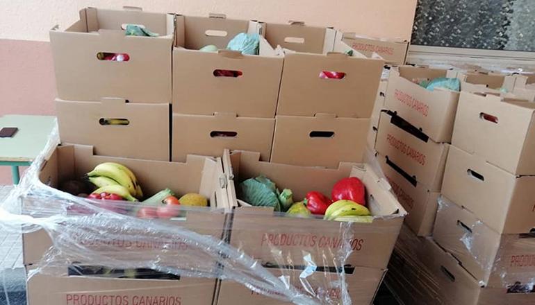 Statt nicht verkaufte Früchte zu entsorgen, sollen sie bedürftigen Personen und Familien zu Gute kommen. Foto: Cabildo de Tenerife