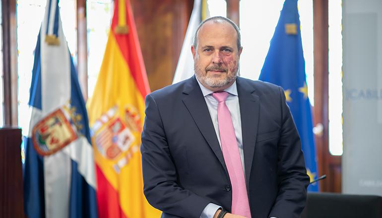Der Inselrat für Innovation, Enrique Arriaga, wird der spanischen Regierung ein neues und modernes System zur Früherkennung von Waldbränden vorschlagen.