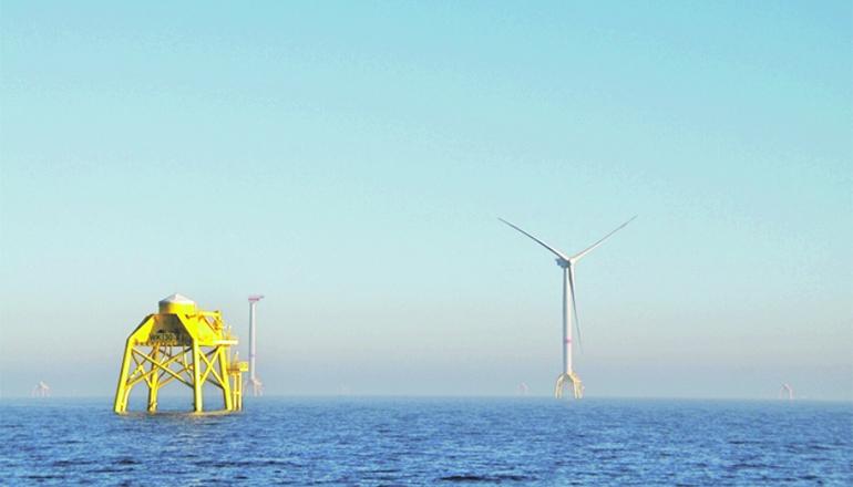Iberdrola betreibt bereits mehrere Offshore-Windparks, im Bild eine Anlage namens Wikinger vor Rügen. Foto: Iberdrola