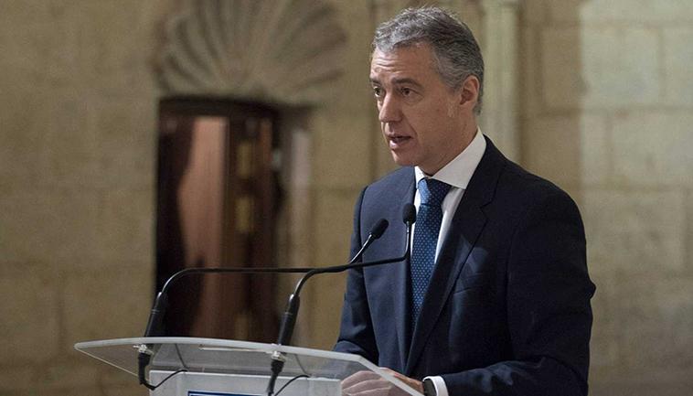 Iñigo Urkullu, Lehendakari (Präsident) des Baskenlandes
