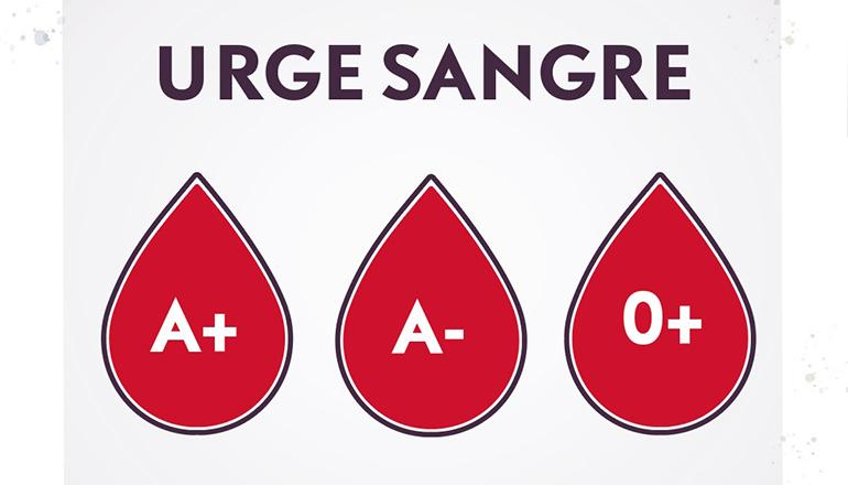 Blutspendeaufruf