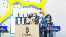 Die ersten Preise Cata Insular de Vinos gingen an die Kellereien Agala, La Vica und Señorío de Agüimes Foto: Cabildo de