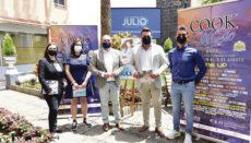 """Mitglieder der Stadtverwaltung stellten das """"kleine"""" Festprogramm vor Foto: ayto Puerto de la cruz"""