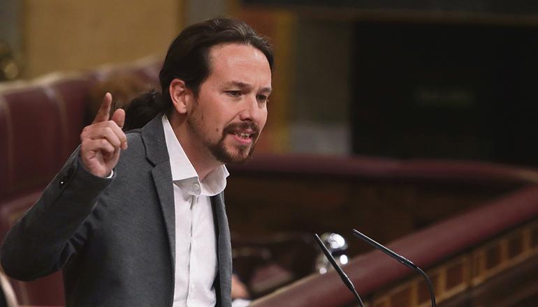 Der zuvor so medienpräsente Pablo Iglesias ist seit seinem Rückzug aus der Politik von der Bildfläche verschwunden. Foto: EFE