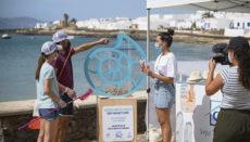Im Juli führten Freiwillige auf der nördlich von Lanzarote gelegenen kleinsten Insel der Kanaren eine Säuberungsaktion durch. Dabei wurde eine ebenso erstaunliche wie erschreckende Zahl von Zigarettenkippen am Strand von Caleta de Sebo und in den umliegenden Gassen des kleinen Küstenortes gesammelt. Fotos: ayuntamiento de teguise
