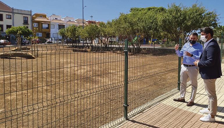 Der neue Hundepark befindet sich im Stadtteil Finca España in La Laguna. Foto: Ayto La Laguna