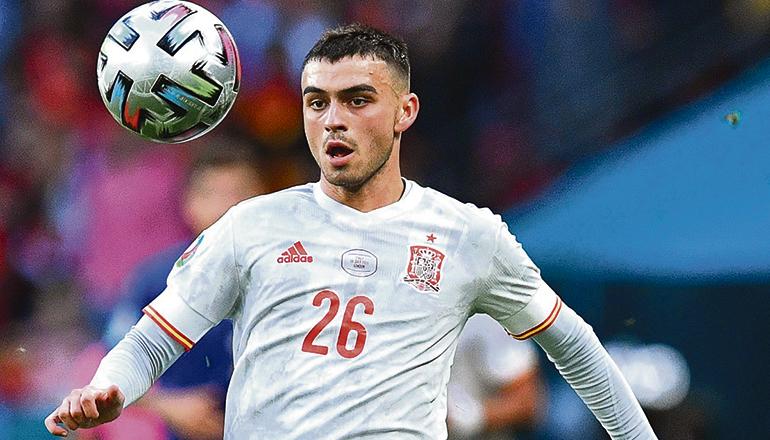 Teneriffas neuer Starkicker Pedri wurde von der UEFA zum besten Nachwuchsspieler der EM gewählt. Foto: EFE