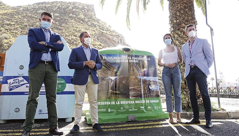 Santa Cruz Glasrecycling AYTO