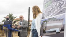 Cabildo-Präsident Antonio Morales (M.) stellte das Projekt zusammen mit Bürgermeister Augusto Hidalgo und der Stadträtin für Sozialwesen, Isabel Mena, vor. Foto: Cabildo Gran Canaria