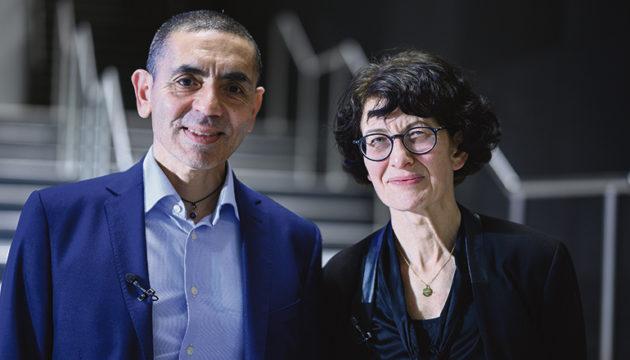 Uğur Şahin und Özlem Türeci von BioNTech Fotos: EFE