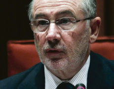 Rodrigo Rato, ehemaliger Wirtschaftsminister unter Aznár und Ex-Präsident von Bankia Foto: EFE