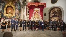 Die Feierlichkeiten zu Ehren der Schutzpatronin des Archipels am 15. August fanden dieses Jahr in sehr reduziertem Rahmen statt. Allerdings haben sich die Besuche in der Basilika während der Pandemie erhöht. Foto: Ayuntamiento de Candelaria