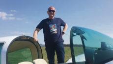 Josef Reitter, einer der Initiatoren von Charity Flyers, freut sich auf die Tour nach Teneriffa.