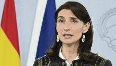 Justizministerin Pilar Llop scharf von der Opposition kritisiert EFE