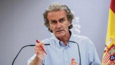 Spaniens Chef-Virologe Fernando Simón freut sich über die hohe Impfquote im Land und lehnt eine Impfpflicht ab. Foto: EFE