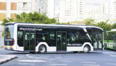Der E-Bus ist im Testbetrieb in Santa Cruz im Einsatz. Foto: Ayuntamiento de Santa Cruz de Tenerife