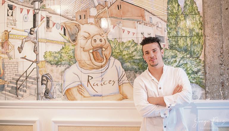 """Carlos Maldonado hat es mit seinem Restaurant """"Raíces"""" in nur vier Jahren zu einem Michelin Stern gebracht. Foto: Jorge Ruíz/Raíces"""