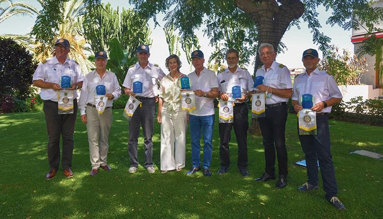 Die Scheckübergabe fand im Hotel Botánico statt. FotoS: ROTARY CLUB PUERTO DE LA CRUZ