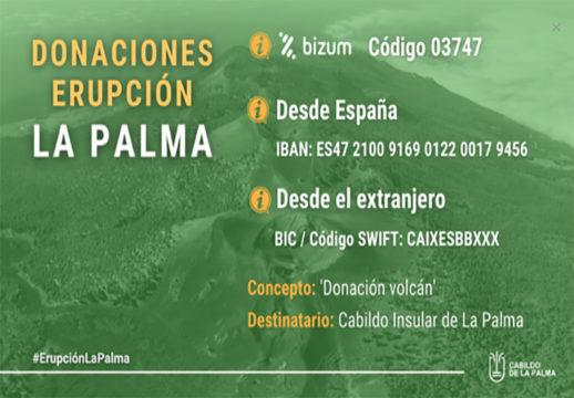 Spenden La Palma