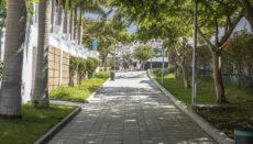 Die Fußgängerzonen verbinden die Straßen Avenida Ernesto Sarti, Avenida España und Avenida Colón im Herzen der Urlaubermetropole. Foto: Ayuntmaiento de Adeje