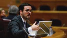 Verbraucherminister Alberto Garzón Foto EFE