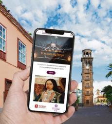 Startpunkt für das Spiel ist der Kirchturm der Iglesia de la Concepción. Foto: Ayuntamiento de La Laguna