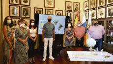 Bürgermeister Francisco Linares bei der Präsentation der 36. Ausgabe der größten Fachmesse für Kunsthandwerk der Kanarischen Inseln Foto: Ayuntamiento de La Orotava