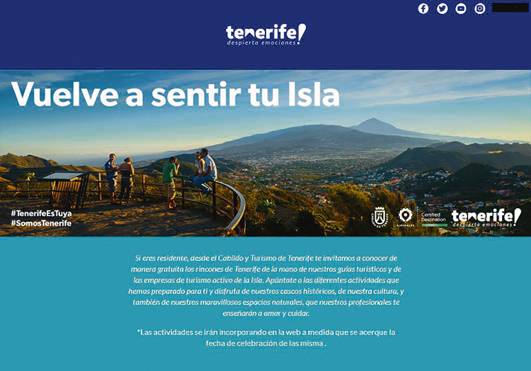 Das Tourismusamt der Insel will über das Angebot von 39 verschiedenen geführten Wanderungen und Besichtigungstouren die Inselbevölkerung dazu ermutigen, ihre Insel besser kennenzulernen. Foto: Cabildo de Tenerife