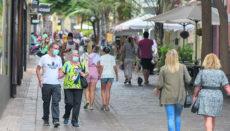 Menschen in der Fußgängerzone von Santa Cruz FOTO: Ayuntamiento Santa Cruz