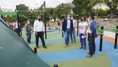 Nach vier Jahren Planung und Arbeiten wurde der Park vom Bürgermeister eröffnet. Der Park bietet Einrichtungen für jede Altersgruppe. Foto: ayto sc