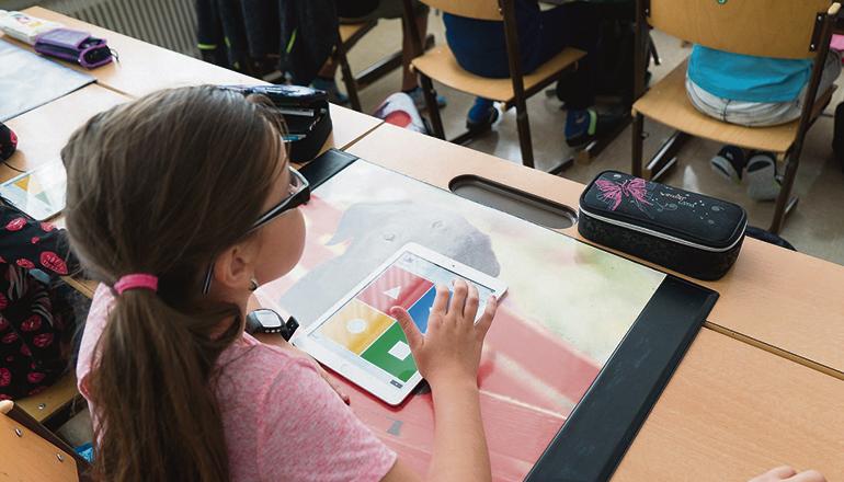 Tablets im Unterricht sind auf den Kanaren keine Seltenheit mehr. Die Schulen werden immer digitaler. Foto: Gobierno de Canarias